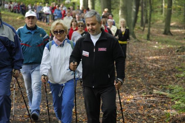 Zielony Las - otwarcie trasy Nordic Walking