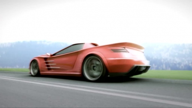 Novol animacja samochodu
