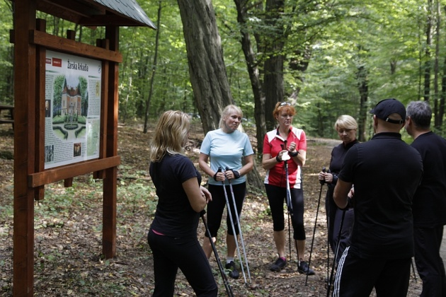 Zielony Las - Żary - trasa Nordic Walking