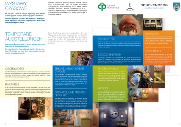 Centrum przyrodnicze - folder promocyjny