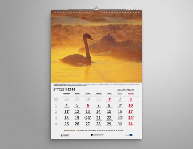 Kalendarze ścienne dla WFOŚiGW