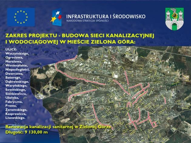 ZWiK Modernizacja sieci wod-kan.