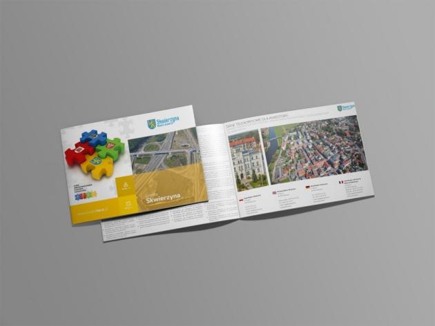 Foldery promocyjne terenów inwestycyjnych
