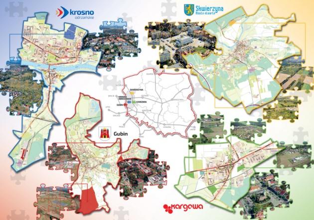 Mapy terenów inwestycyjnych