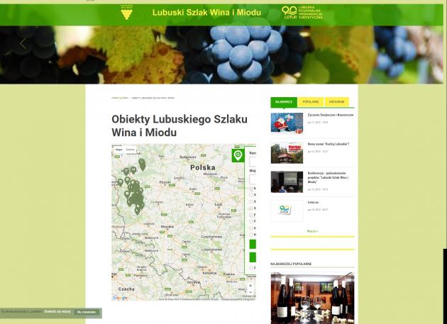 Portal Szlak miodu i wina