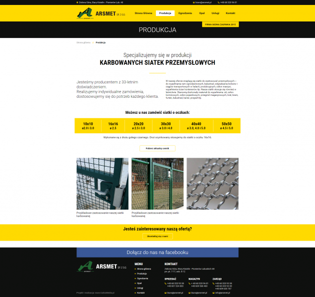 Portal producenta ogrodzeń
